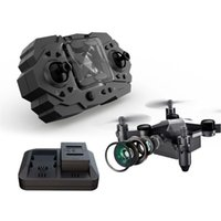 Drones 901H Pocket mini drone HD HD Pographie de la caméra WiFi caméra pliable portable portable RC quadcoptère petit hélicoptère enfants jouet cadeau