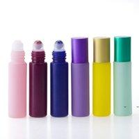 ألوان 10 ملليلتر زجاجة زجاجة زيتية لفة الزجاج العطور كريستال كريستال الكرة زجاجات FWA5955
