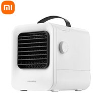 Xiaomi Youpin Fan Microhoo MHO2A Portable USB Air-Conditioning Cooling Fans Purifier Air Cooler Stepless Speed Regulation for Home Office