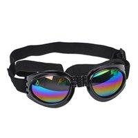 Dog Apparel Protection Goggles UV Sunglasses Foldable Pet Glasses Medium Large Eyewear Waterproof