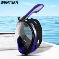 Máscaras de mergulho 2021 Óculos de proteção para crianças máscara anti nevoeiro óculos temperados segurança equipamentos de óculos subaquáticos snorkeling
