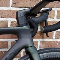 Quadro de bicicleta de carbono SL-7 de alta qualidade Adequado para DI2 Grupo Mecânico 700C Estrada de Carbono Quadro de Bicicleta 12x142mm Thru-eixo DPD