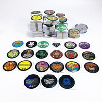 73*23mm Candy Boxes Bottle Can Disco Biscuits Cans stickers Self-Seal packing Tin Box Blue Dream Cali Tins Labels Tuna free DHL
