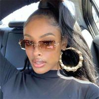 Monique Orenda 2021 Neue Ankünfte Mode Rimls Männer Shad Women Square Sonnenbrille