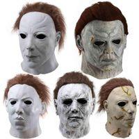 Máscaras de festa máscara de luz luz de pânico máscara mcmail halloween fwb9208
