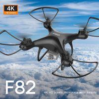 F82 Telecomando Drone Lungo Endurance 4K Dual-Camera Tempo trasmesso in tempo reale Aeromobile Pieghevole Pieghevole RC Drone Telecomando