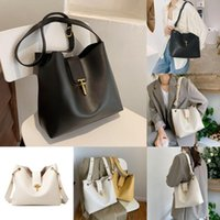 Cross Body Large Capacity Simple Solid Color Pu Leather Bucket Crossbody Bag For Women 2021 Female Brand Shoulder Handbags And Purses