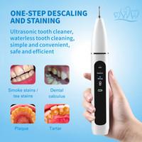 Azdent Home Ultrasonic Cálculo Removedor Dental Escalador eléctrico Portátil Scaler Sonic Smoke Manchas Tartar Placa Dientes Blanco