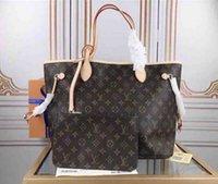 "GG ""LV"" Louis ... Vitton YSL ... Vutton Vintage Cowhide Purse 3D Onthego 2 piezas Madre Pack Totes Bolsas de hombro Monedero Lady Designer Handbags Mujeres Crossbody"