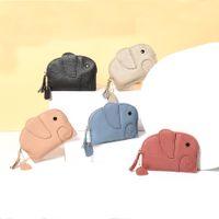 HBP الفيل مصغرة الإبداع عملة محفظة فتاة لطيف 8 ألوان محفظة