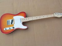Electric guitar CS color body double breaded edge maple fingerboard