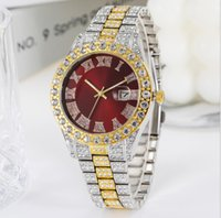 Casual Business Charming Women Watch 8MM Thin Dial Ladies Watches Stars Diamond Date Quartz Battery Roman Number Luxury Wristwatches