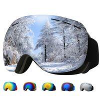 Loogdeel 2021 лыжные очки Велоспорт Солнцезащитные очки Мужчины Женщины лыжные Очки UV400 Анти-туман Большие лыжные Маска Очки Снег Сноуборд Поляри