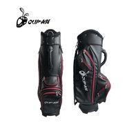 Golf Tragbare Lederfeuchtigkeitssicherer Trolley Team Golf Tasche