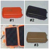 야외 생존 PP 물 레크리에이션 방수 플라스틱 도구 상자 Shockproof 방수 습기 방지 도구 상자 봉인 된 저장 컨테이너 도구