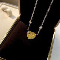 HBP Fashion Luxury New Love Necklace Pure Silver 925 Joyería Cadena de perlas Tamaño 12 * 15mm