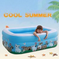 Child Infatable Swimming Pool Above Ground Inflatable Family Swimming Pool Baby Inflatable Child Toy Pools 150*110*50cm