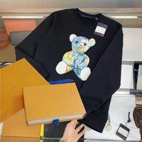 Mode Hoodies Männer Pullover Hoodie Langarm Caasual Sweatshirt Brief Herbst Frühling Unisex dünne atmungsaktive Qualität S-3XL