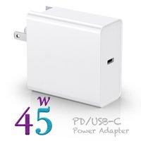 45 Вт PD QC4.0 3.0 Быстрое зарядное устройство для компьютера USB-адаптер