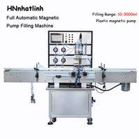 316 Edelstahl Magnetpumpe Wasser Automatische Flasche Wasser Parfüm Flüssigkeitspackung und Füllmaschinen Flaschenwassermaschine