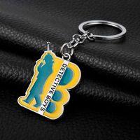 Heyu Jewelry Detective Conan Beychain Функция подвеска брелок мужчин автомобилей висит аксессуары творческий ключ держатель