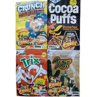 edibles bag mylar packing bags packaging CRUNCH TRIX COCOA PUFFS REESE PUFF BERRIES Runtz Gummy pouch plastic CAP'N CRUNCHS 400mg