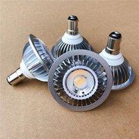 7 واط AR70 B15D LED الأضواء B15 قاعدة عكس الضوء AC85-265V / DC12V الرئيسية / الإضاءة التجارية BA15D AR70 لمبة مصابيح LED الأضواء