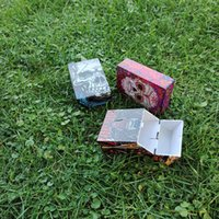 Ultimo cranio creativo testa di ghost stampato cigeriatte caso miscela colore portatile scatola di plastica spinta qui per aprire