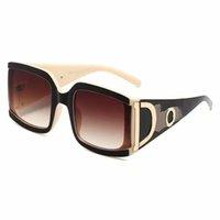 Солнцезащитные очки новой женской коробки Большая рамка Взрывоопасный D Стиль буквы