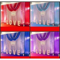 Event Festive Supplies Home & Garden Drop Delivery 2021 10Ft*20Ft Wedding Party Stage Celebration Background Satin Curtain Drape Pillar Ceili