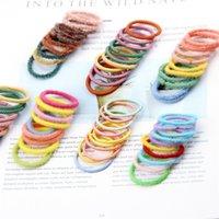 Mädchen Haarbänder Ring Zubehör Haar Gummibänder Kinder 10 Stück Set Kreis Baby Kinder Stirnbänder Band Schmuck Stirnband Großhandel H26G3BL