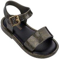 Mini melissa nouveau été filles garçons gelée jelly chaussures fille sandales anti-slip enfants plage sandale sandales sandales douces 210226