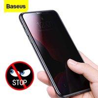 Baseus 2 шт. 0.3 мм Защитник экрана закаленного 11 PRO MAX Антиплизная защитная крышка для iPhone 11 Стеклянная пленка