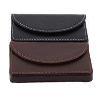 Card Holders Men Women Package Wallet Business Holder Simple Style Black Coin Bag Money Clip