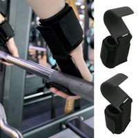 1 Paar Gewichtheben Griffe Riemen Haken Horizontal Bar Training Fitness Gym Handgelenkstütze Hantel Gewichtheben Schutzausrüstung