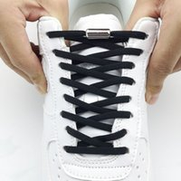 قفل المعادن مرونة لا التعادل رباط الحذاء كبسولة نصف دائرة مشبك السلامة السريع سلسلة الأحذية للأطفال والكبار أحذية الأحذية كسول الأربطة