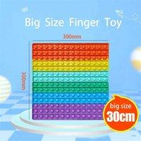30cm Partie Grand Taille Fidgety Toys Poussez la table en mousse Haut Adulte Enfants adultes Parent-enfant Interaction Interaction Pression Cadeau