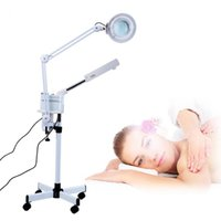 3 in 1 UV Ozone Face Steamer Cold Light LED 5X Magnifier Floor Lamp Facial Body Tattoo Makeup Lamp Beauty Spa Salon Tool