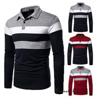 Tolorer moda roupas nova camisola masculina outono quente magro fit manga longa turn-down colarinho fitness treino roupas camisola