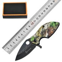 Browning 3D-Blatt-Klappmesser im Freien Defensive Taktik Messer Camping Multifunktions-Taschenmesser EDC-Werkzeug HW145