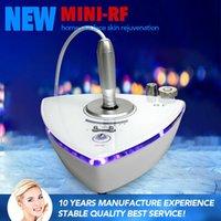 RF001 MOQ1 2016 RF Skin Rejuvenation Machine Beauty Salon dispositivo uso domestico per la rimozione delle rughe Radio Frequenza Bellezza facciale per anti-invecchiamento