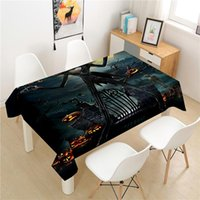 Table Cloth Halloween Tablecloth Polyester El Picnic Rectangular Covers Home Dining Tea Decoration