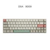 JKDK DSA Profilo 9009 Dye sub 61 64 68 ANSI KeySet Spessore PBT Keycap set per MX Keyboard Mechanical GH60 XD64 GK64 Tada68