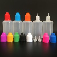 3ml-120ml LDPE 빈 플라스틱 압착 가능 dropper 병 전자 주스 리필 아이 액체 오일 컨테이너 얇은 플러그 무료 깔때기