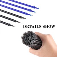 Gel Pens 100Pcs 0.5mm Ink Pen Refill Replace Refills Erasable Full Needle Students Stationery Supplies School Office