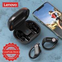 Kopfhörer Kopfhörer Lenovo LivePods LP7 Tws Bluetooth Kopfhörer 360 ° Anti Slip Sport läuft Wireless Ohrhörer mit MIC HD Stereo IPX5