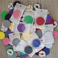 Top titular de teléfono celular universal con bolsa de OPP Pegamento Real Soporte de agarre expandible 360 Grados Soporte de dedo flexible para teléfono Samsung10 Colores