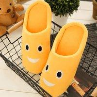 Slippers Unisex Home Women Soft Warm Fur Ladies Slides Cute Cotton Men Mute Female Shoes Plus Size