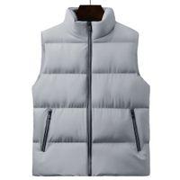 Kış Ceketler Yelekler Pamuk Yelek Adam Kalın Kolsuz Ceket Ceket Erkek Sıcak Yelek Erkekler Bezi Veste Homme My259