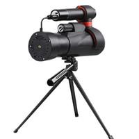 كاميرات الفيديو للرؤية الليلية أحادي 12x45 ملليمتر 1080 وعاء HD تلسكوب مع ترايبود دعم wifi أحادي الأشعة تحت الحمراء للطيور مشاهدة مراقبة الحياة البرية